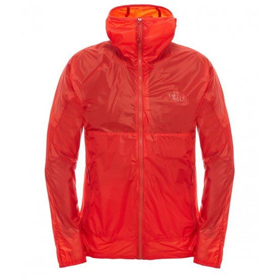 The North Face Fuseform Eragon Wind Jacket - Fiery Red Fuse