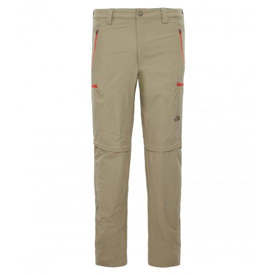 The North Face Exploration Convertible Pant - Mountain Moss