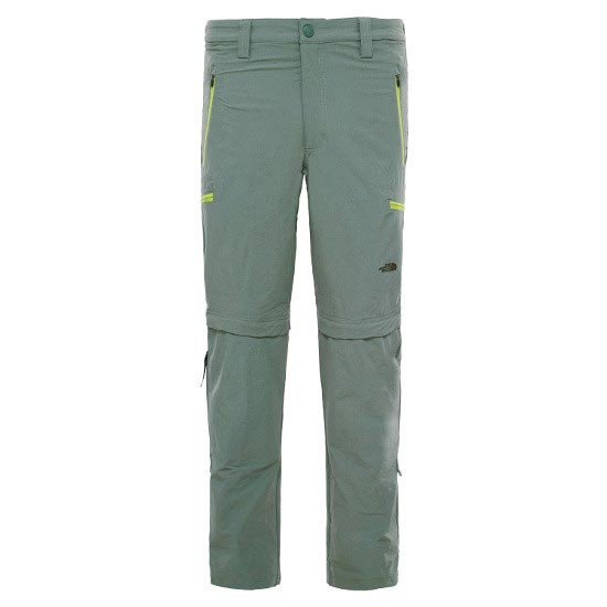 The North Face Exploration Convertible Pant - Laurel Wreath Green