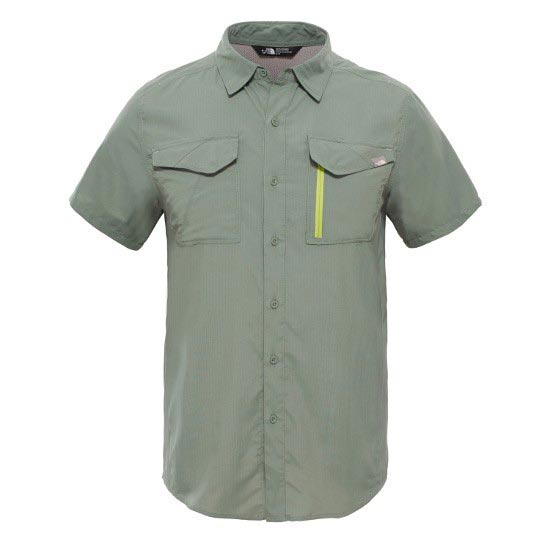The North Face S/S Sequoia Shirt - Laurel Wreath Green