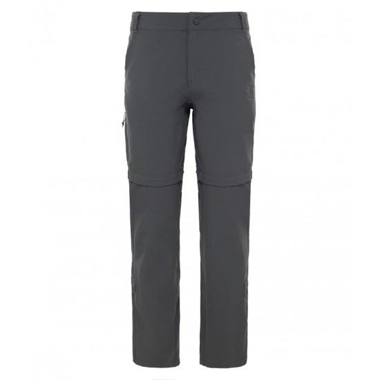 The North Face Exploration Convertible Pant W - Asphalt Grey