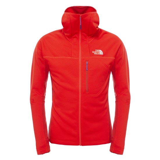 The North Face Super Flux Hoodie Jacket - Fiery Red/Pompeian Red