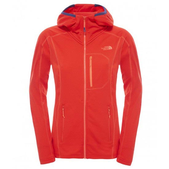 The North Face Incipient Hooded Jacket W - Fiery Red