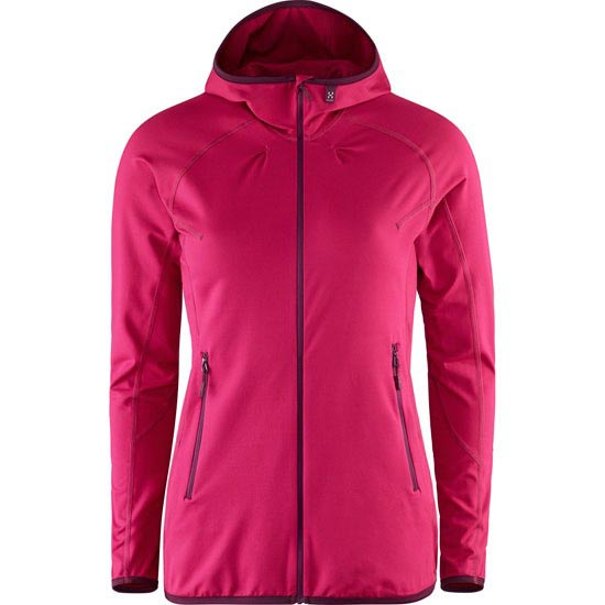 Haglöfs Limber Hood W - Volcanic Pink
