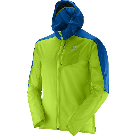 Salomon Fast Wing Hoodie - Granny Green