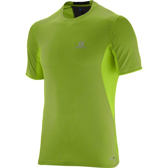 Salomon Trail Runner SS Tee - Granny Green