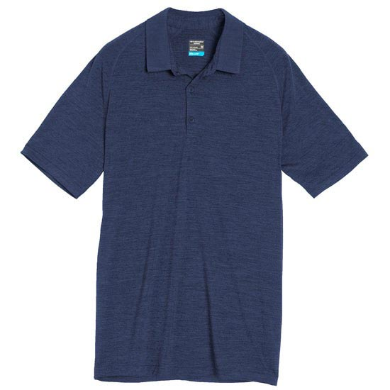 Icebreaker Sphere SS Polo - Admiral Heather