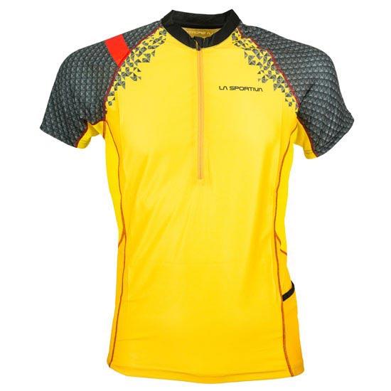La Sportiva Sonic T-Shirt - Black/Yellow
