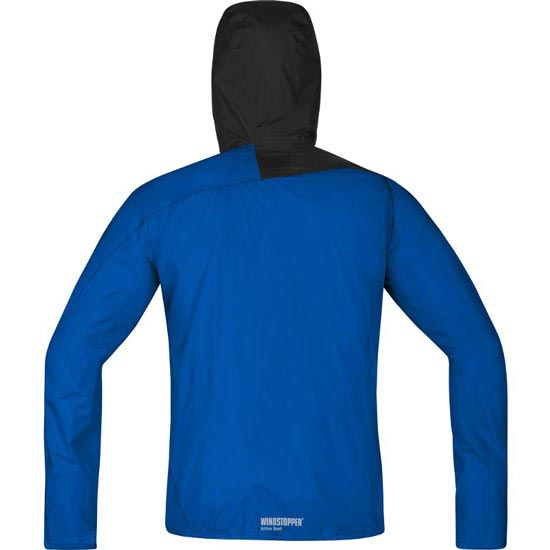 Gore Running Wear Fusion Windstopper Active Shell Jacket - Photo de détail
