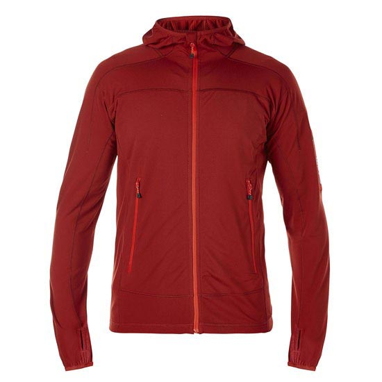 Berghaus Pravitale Light Fleece Jacket - Dark Red