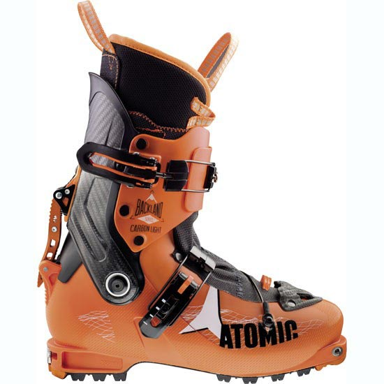Atomic Backland Carbon Light - Orange/Black