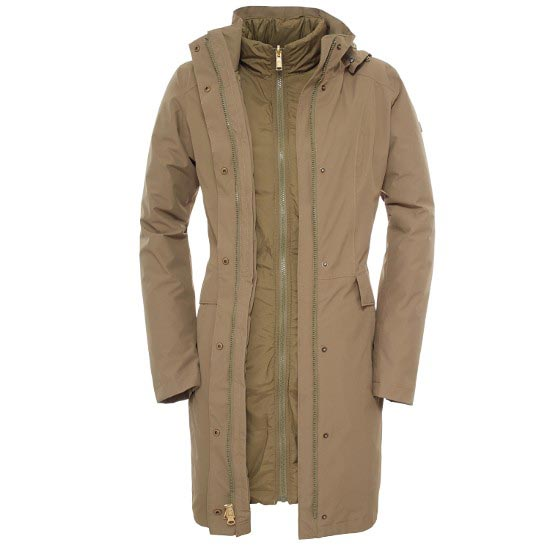 The North Face Suzanne Triclimate Jacket W - Burnt Olive Green