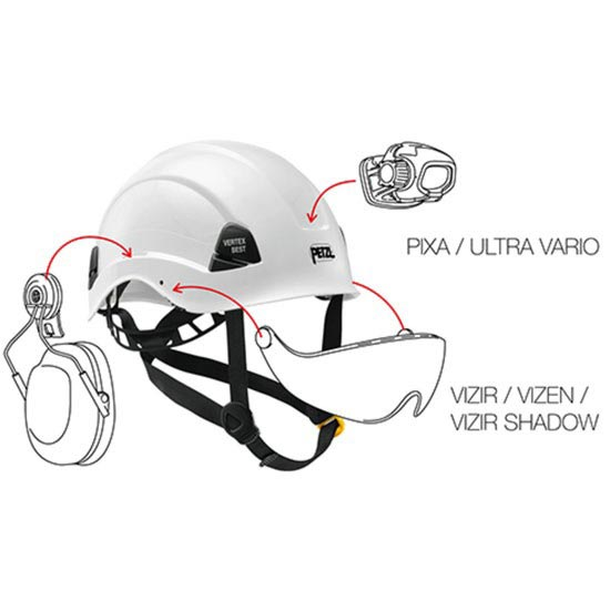 Petzl Vertex Best High Visibility - Photo of detail