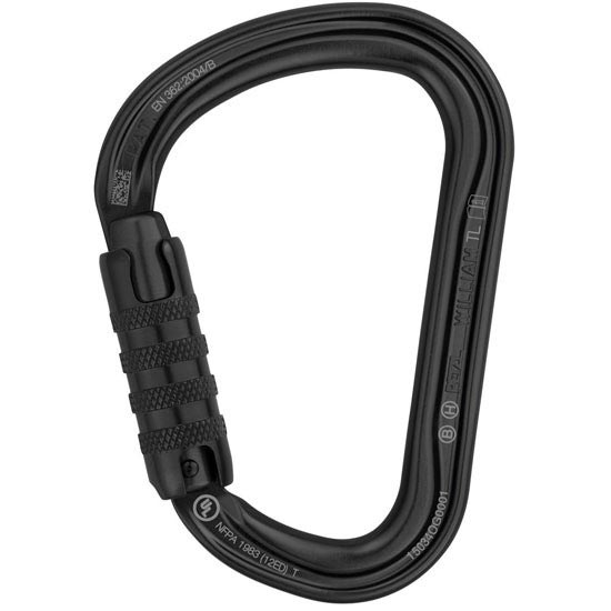 Petzl William Triact-Lock - Black