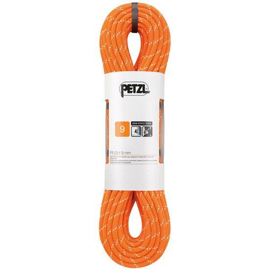 Petzl Push 9 mm 60 m - Naranja
