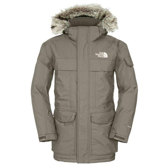 The North Face McMurdo Parka - Black Ink Green