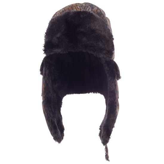 The North Face Heli Hoser Hat - Brindle Brown Flecktarn Print