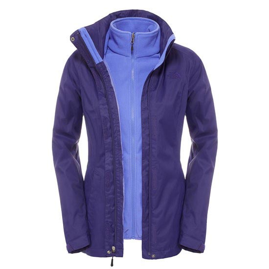 The North Face Evolve II Triclimate Jacket W - Garnet Purple
