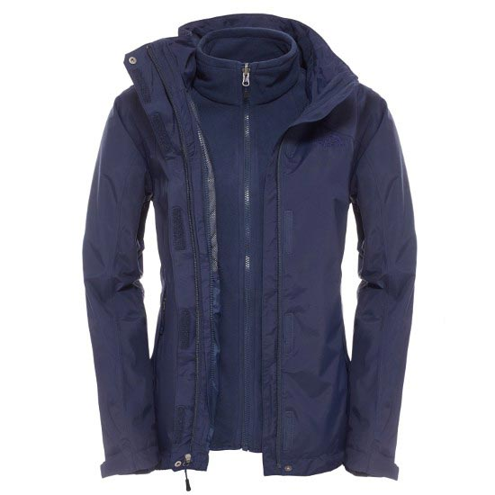 The North Face Evolution II Triclimate Jacket W - Cosmic Blue