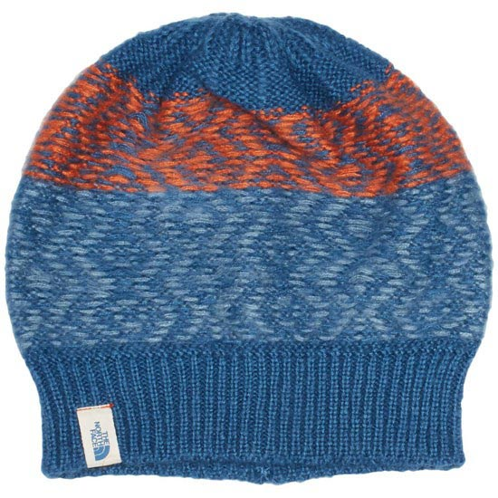 The North Face Tribe N True Beanie - Dish Blue/orange Rust