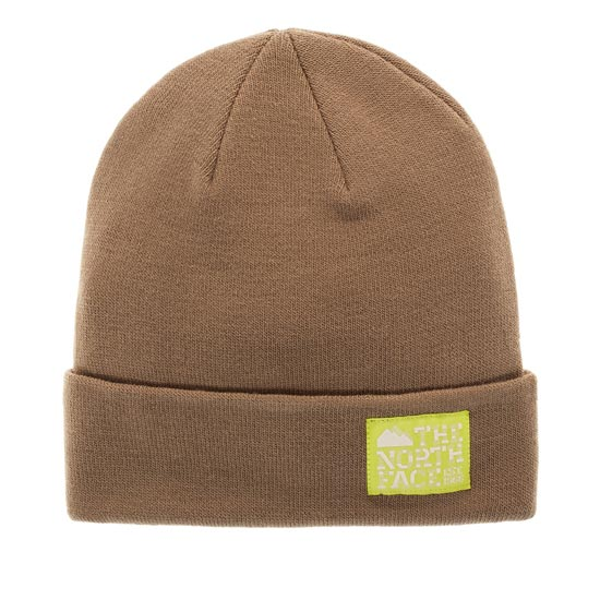 The North Face Dock Worker Beanie - Brindle Brown