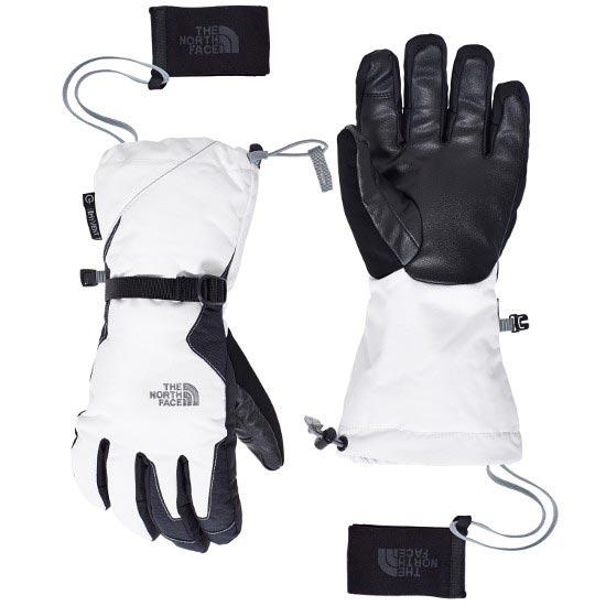 north face esqui guantes