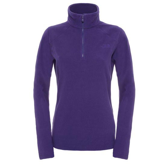 The North Face 100 Glacier 1/4 Zip W - Garnet Purple