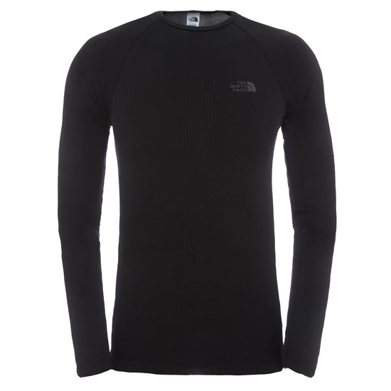 The North Face Hybrid L/S Crew Neck - TNF Black