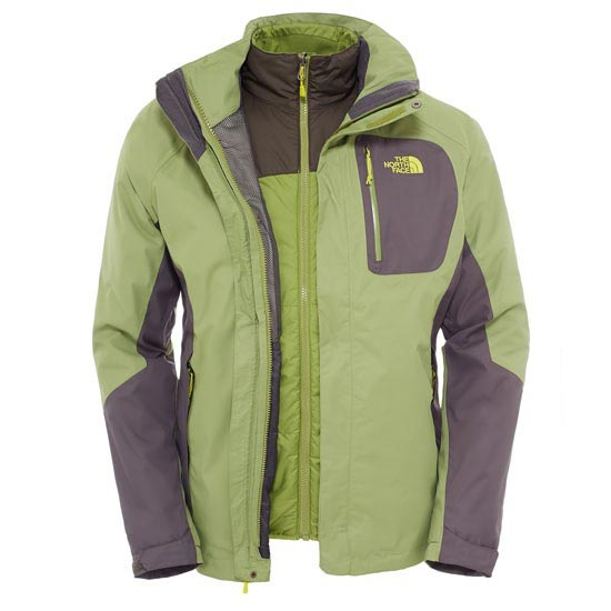 The North Face Zenith Triclimate Jacket - Grip Green/Black Ink Green