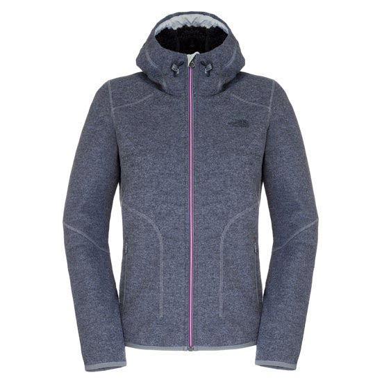 The North Face Zermatt Full Zip Hoodie W - Vanadis Grey Heather