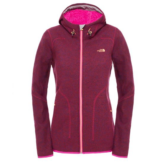 The North Face Zermatt Full Zip Hoodie W - Dramatic Plum Heather