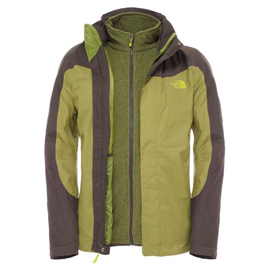 The North Face Zephyr Triclimate Jacket - Grip Green/Black Ink Green