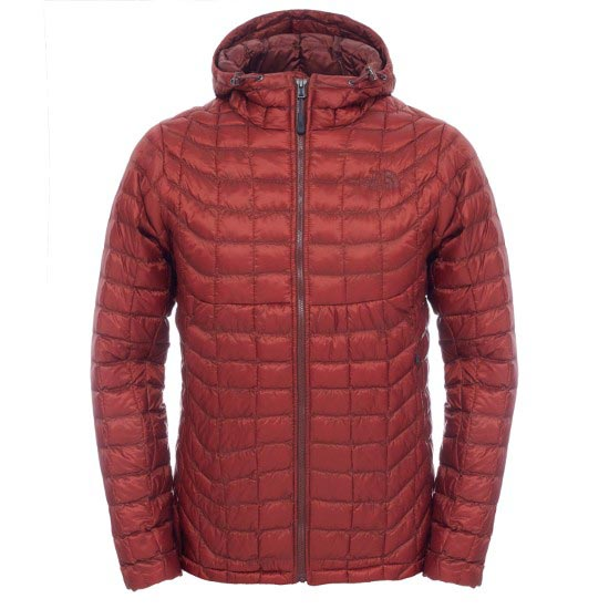 The North Face Thermoball Hoodie - Brick House Red/Sequoia Red