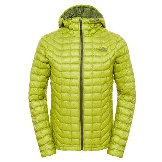 The North Face Thermoball Hoodie - Venom Yellow