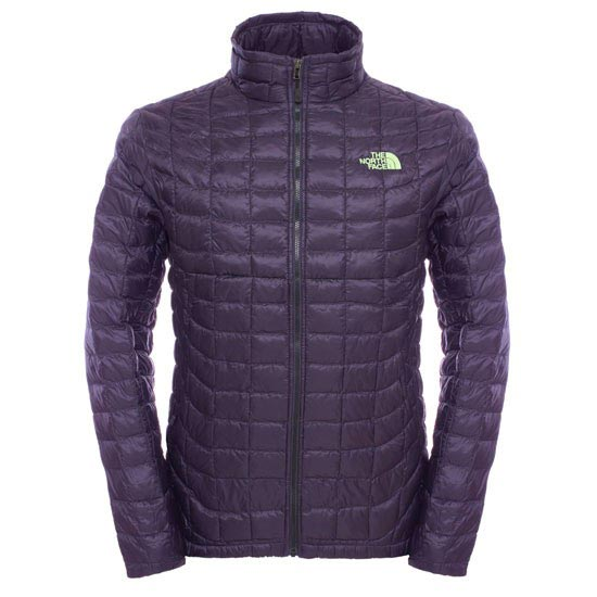 The North Face Thermoball Full Zip Jacket - Dark Eggplant Purple