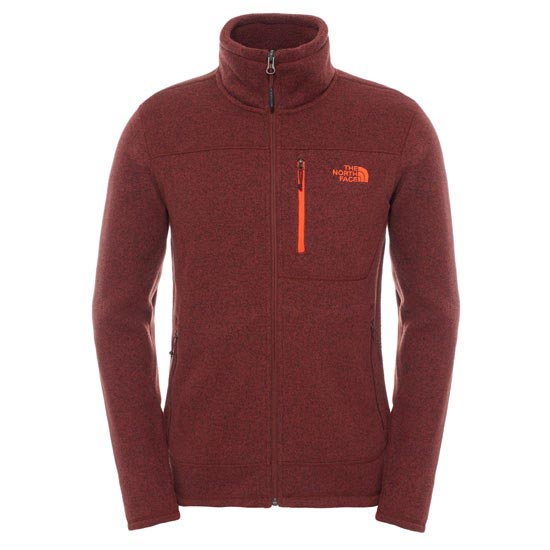 The North Face Gordon Lyons Full Zip - Sequoia Red Heather