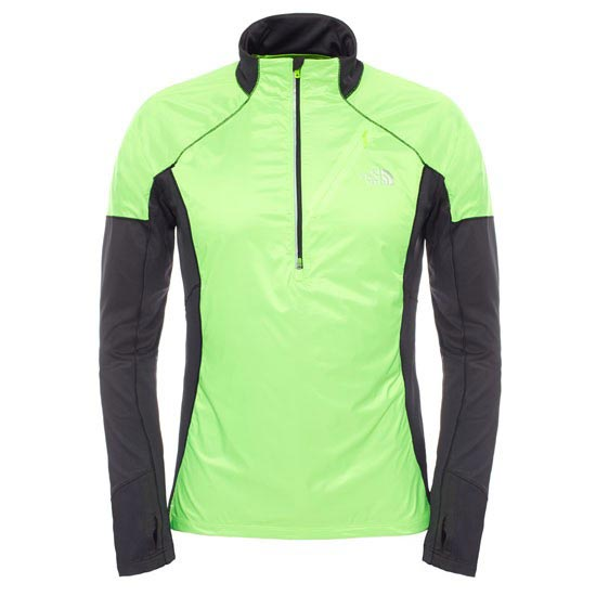 The North Face Isotherm 1/2 Zip - Power Green/Tnf Black Heather
