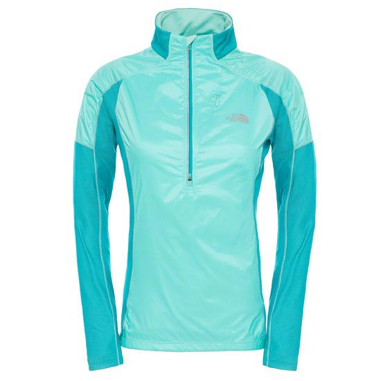 The North Face Isotherm 1/2 Zip W - Surf Green/Surf Green Heather