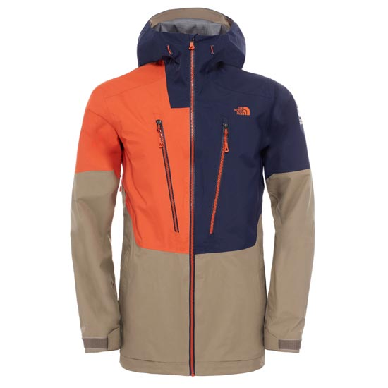 The North Face Free Thinker Jacket - Zion Orange/Cosmic Blue