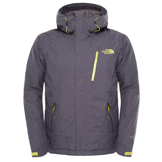 The North Face Descendit Jacket - Asphalt Grey Print