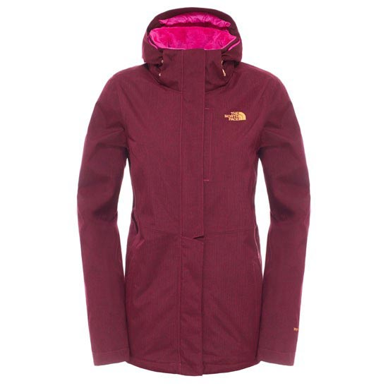 The North Face Inlux Insulated Jacket W - Dramatic Plum Heather