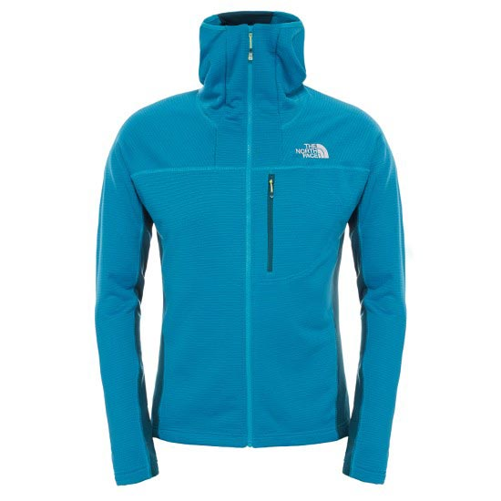 The North Face Super Flux Hoodie Jacket - Enamel Blue/Depth Green