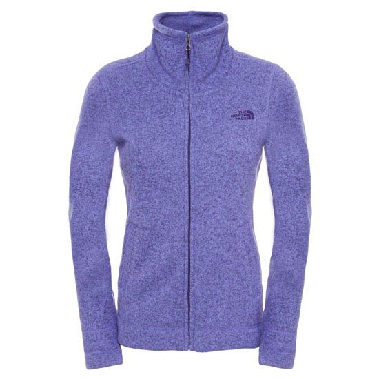 The North Face Crecent Sunset Full Zip W - Starry Purple Heather