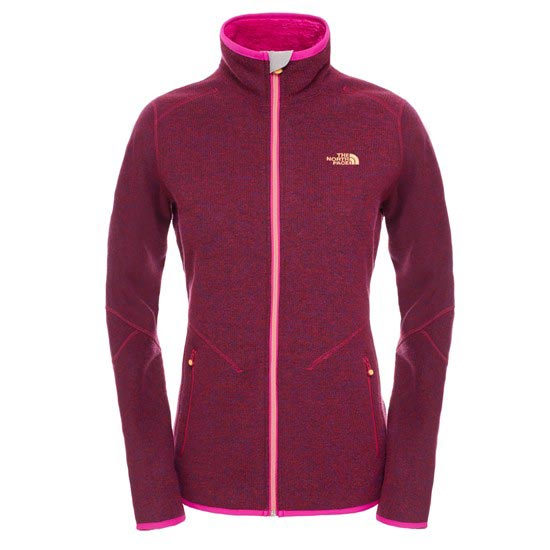The North Face Zermatt Full Zip W - Dramatic Plum Heather
