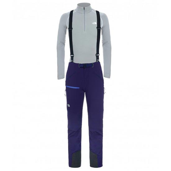 The North Face Descendit Pant W - Garnet Purple
