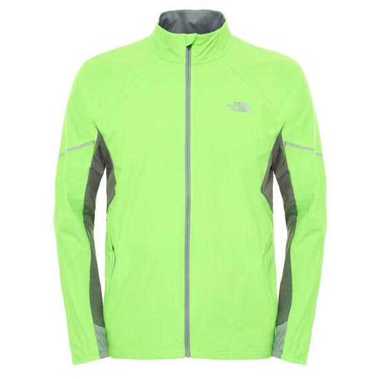 The North Face Isoventus Jacket - Power Green/Monument Grey