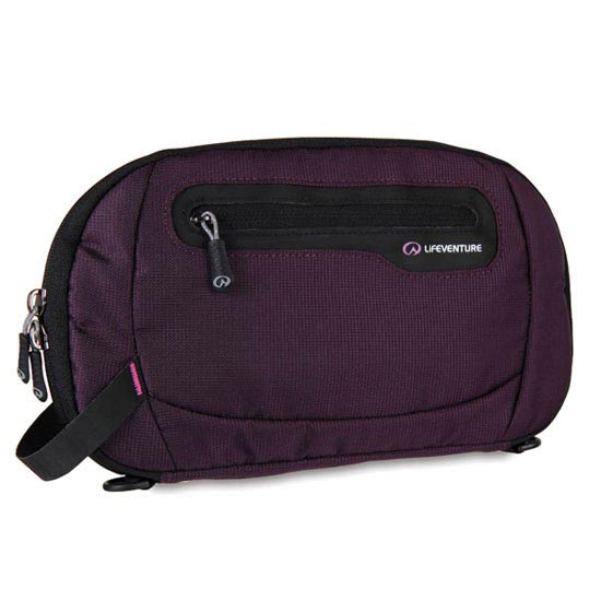Lifeventure Rfid Document Wallet - Mauve