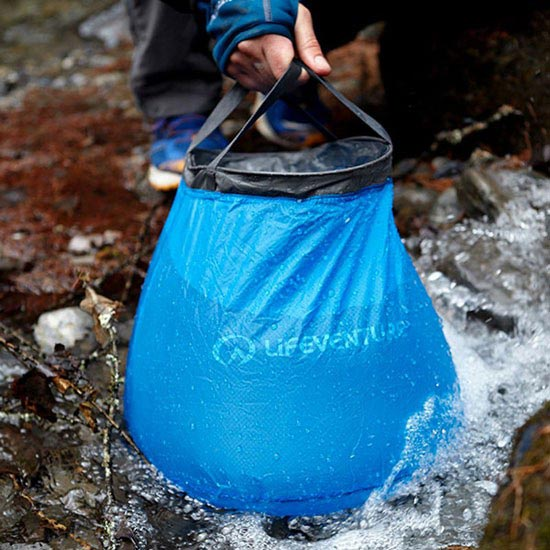 Lifeventure Collapsible Bucket - Detail Foto