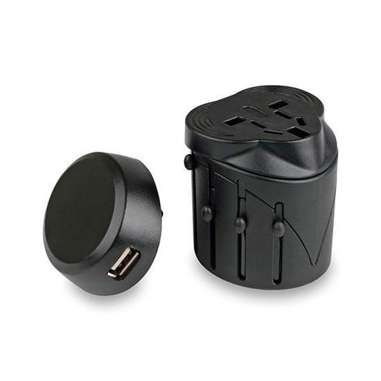 Lifeventure Universal Travel Adaptor with USB -