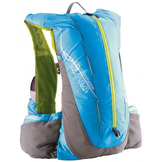 Camp Ultra Trail Vest 12 L - Green/Light Blue